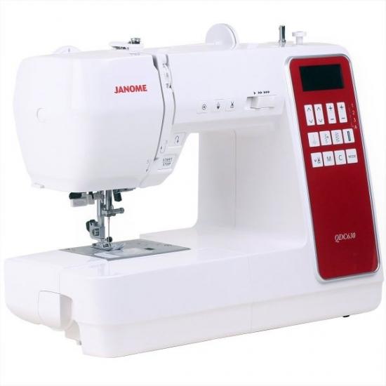 Швейна машина JANOME QDC 630