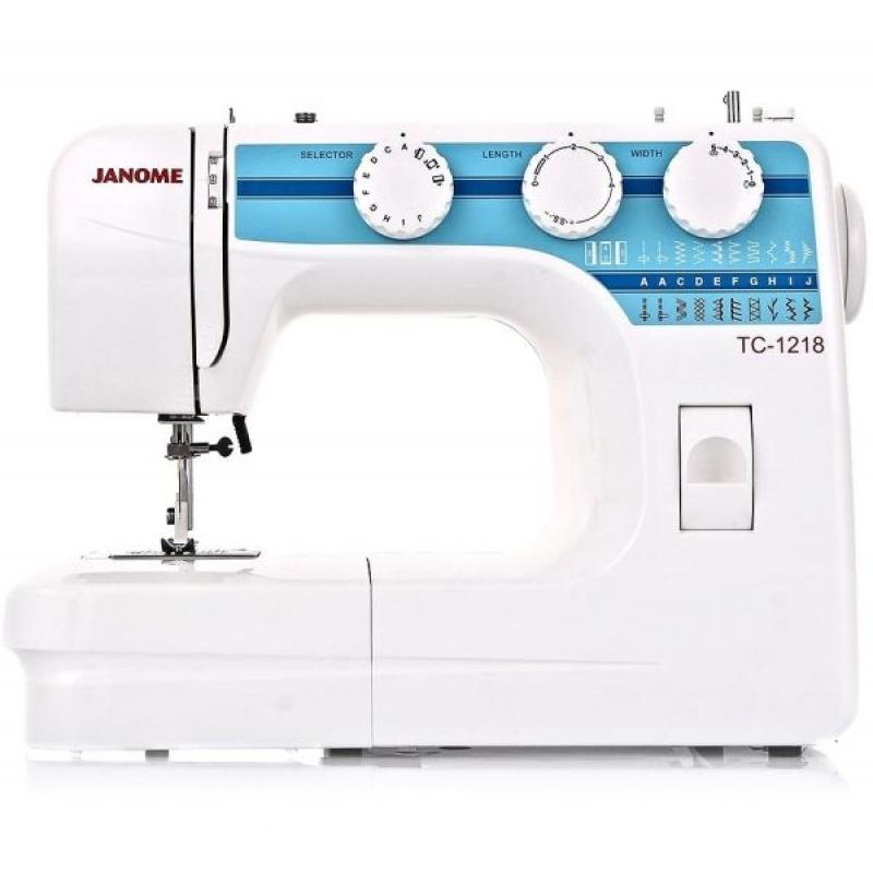 Швейная машина JANOME TC 1218