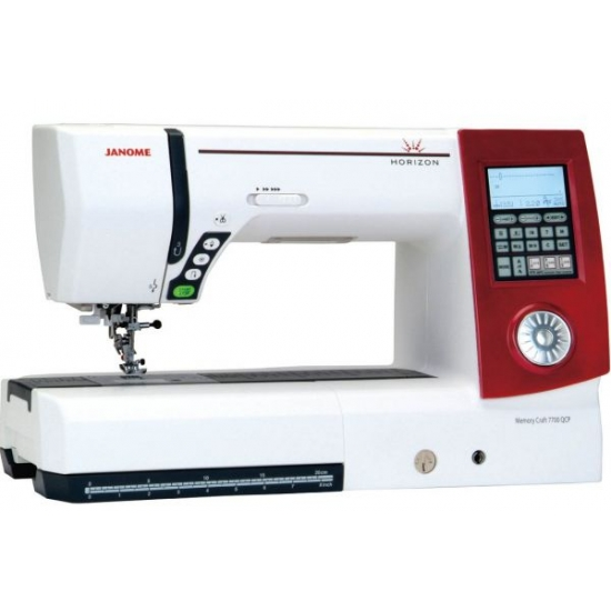 Швейная машина JANOME Horizon Memory Craft 7700 qcp