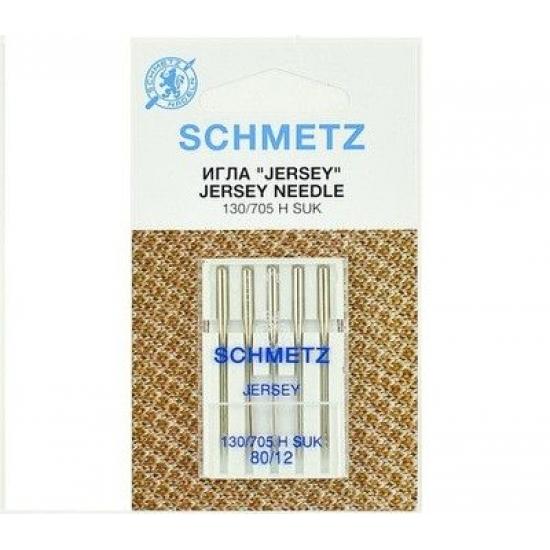 Иглы Schmetz Jersey №80