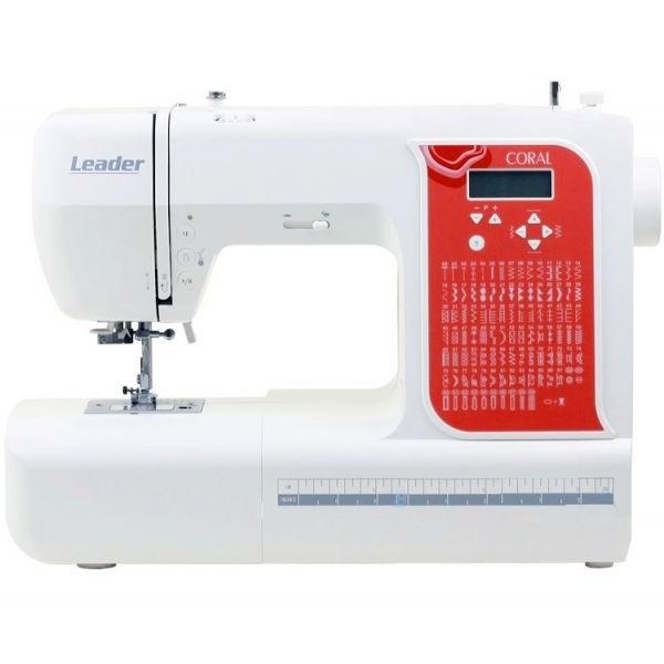 Швейная машина Leader Coral фото