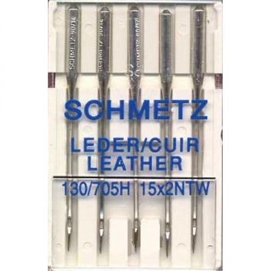 Голки для шкіри Schmetz Leather №100