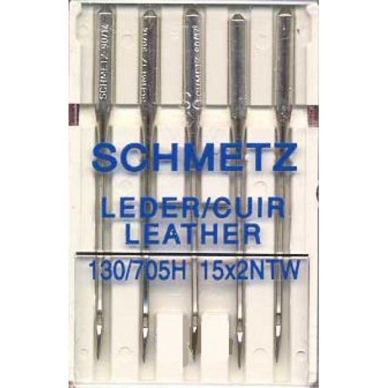 Иглы для кожи Schmetz Leather №80