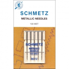 Иглы металлик Schmetz Metallic №80 фото