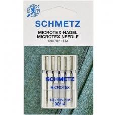Голки для мікротекстиля Schmetz Microtex №90 фото
