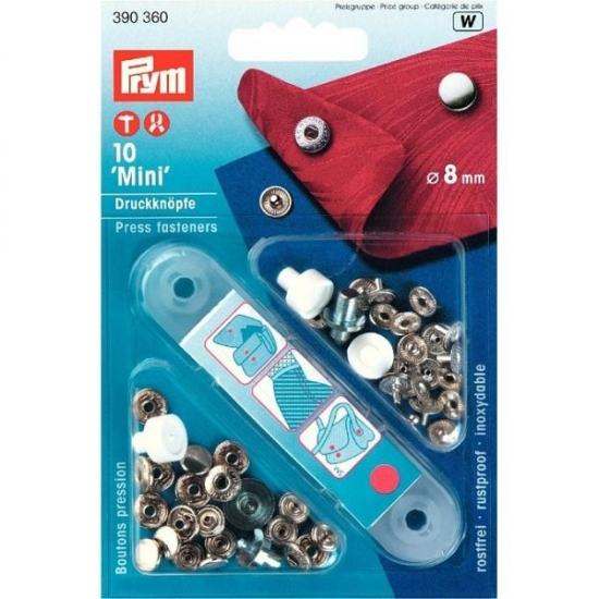 Кнопки Prym Mini 8 мм 390360