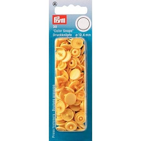 Кнопки желтые Color Snaps 12,4 мм Prym 393112