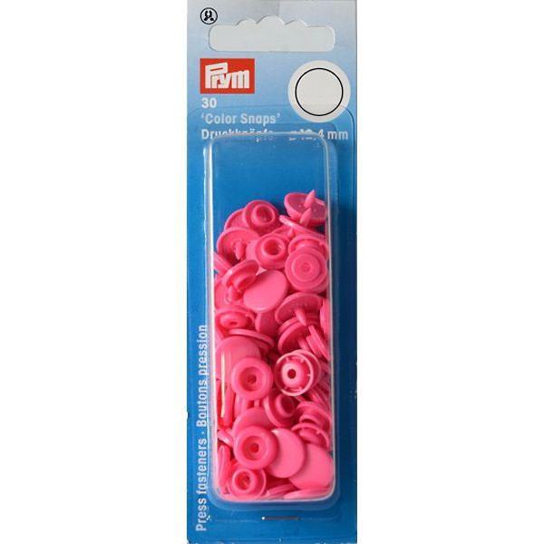 """Кнопки розовые """"Color Snaps"""" 12,4 мм Prym 393147 фото"""