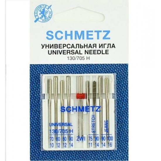 Голки Schmetz Combi Box універсальні №70-100
