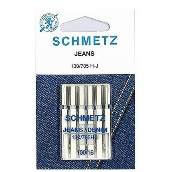 Иглы для джинса Schmetz Jeans №100 фото
