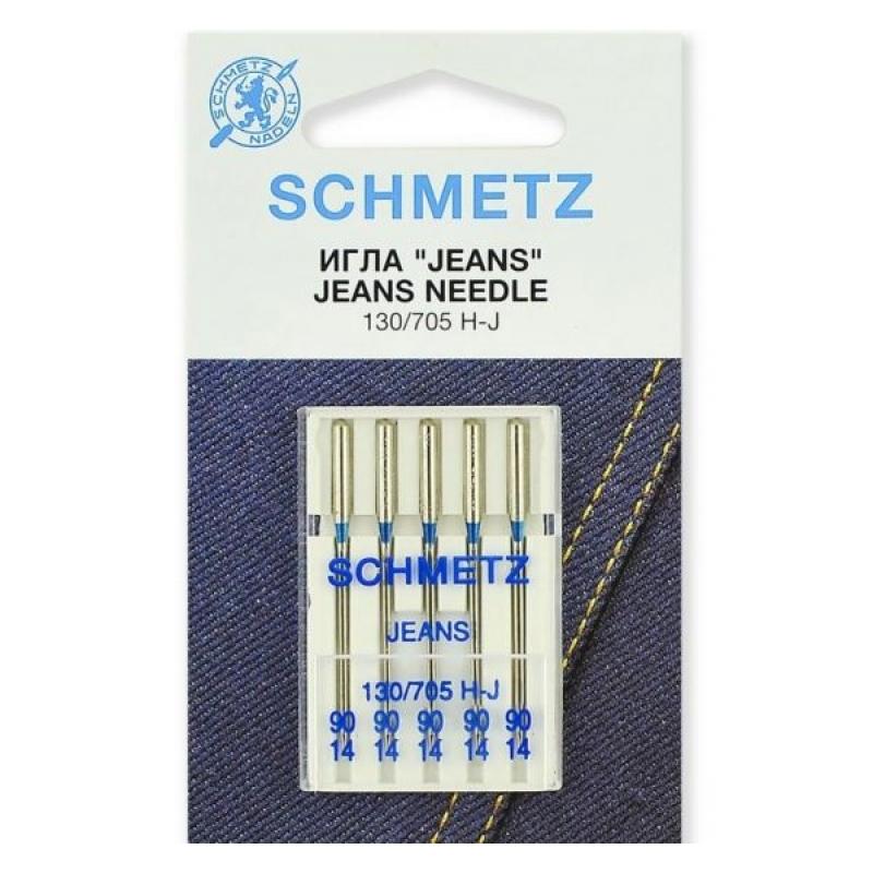 Иглы для джинса Schmetz Jeans №90