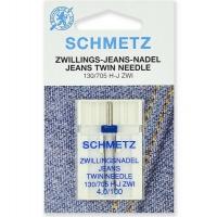 Двойная игла Schmetz Twin Jeans №100/4,0 фото