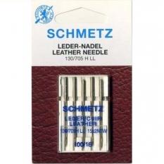 Голки для шкіри Schmetz Leather №100 фото