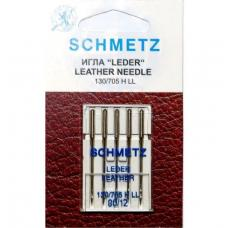 Иглы для кожи Schmetz Leather №80 фото