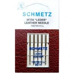 Голки для шкіри Schmetz Leather №90 фото