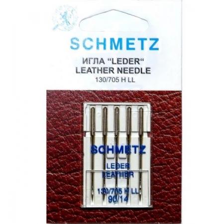 Иглы для кожи Schmetz Leather №90