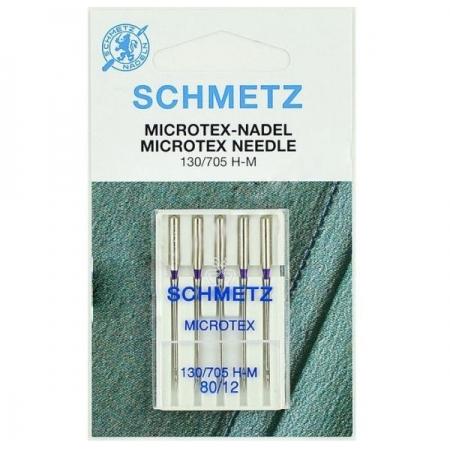 Голки для мікротекстиля Schmetz Microtex №80