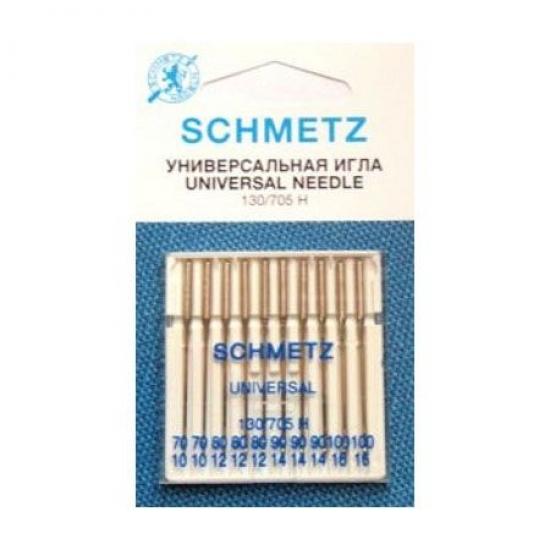 Иглы универсальные Schmetz Universal №70-100 (10 шт.)