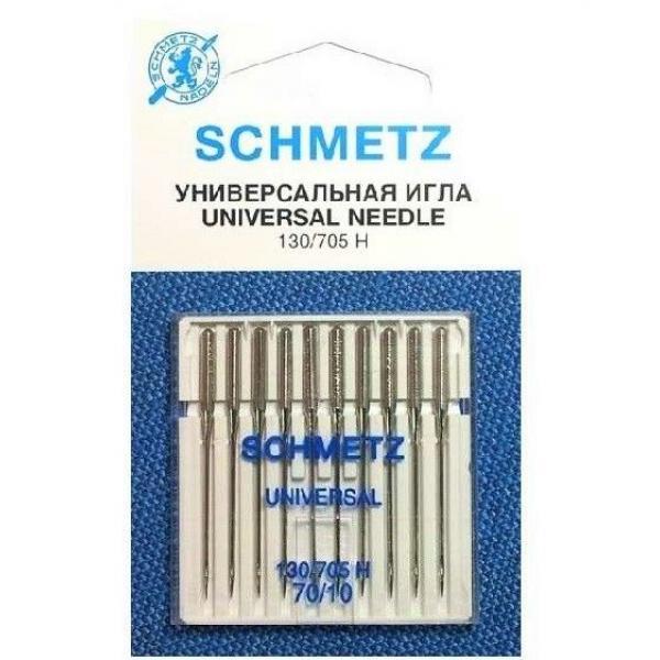 Иглы Schmetz универсальные №70, 10 штук фото