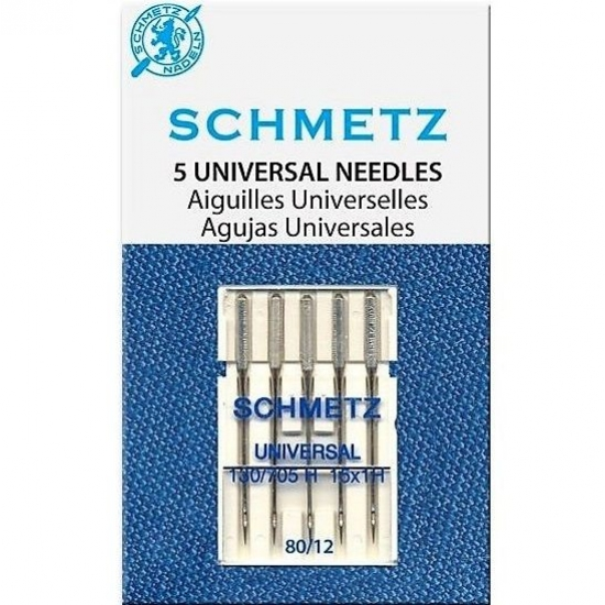 Иглы универсальные Schmetz Universal №80