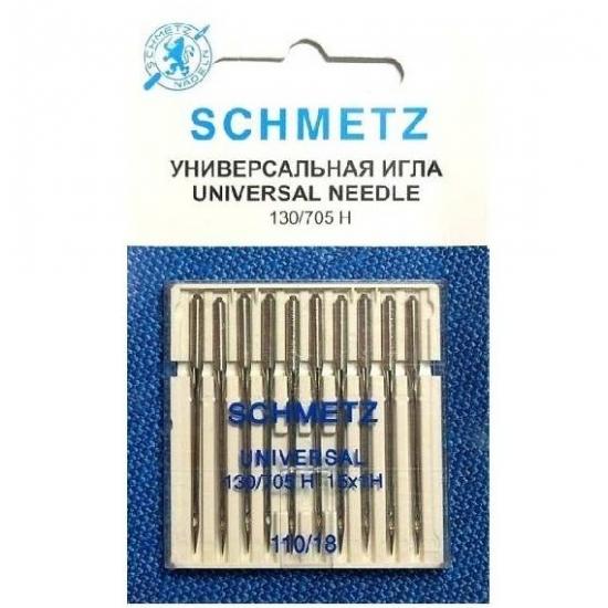Иглы Schmetz универсальные №110, 10 штук