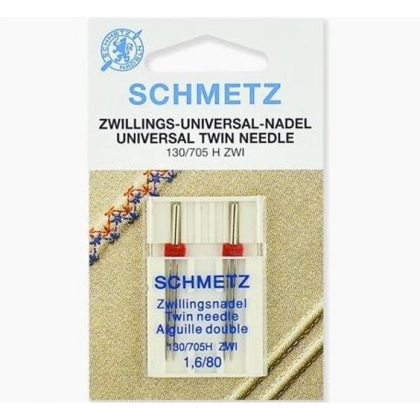 Двойная игла Schmetz Twin Universal №80/1,6 фото