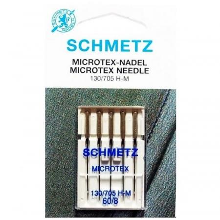 Иглы Schmetz микротекс №60