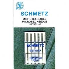 Голки для мікротекстиля Schmetz Microtex №70 фото