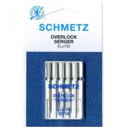 Иглы для оверлока Schmetz Overlock №90