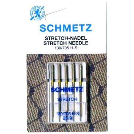 Иглы для трикотажа Schmetz Stretch №65