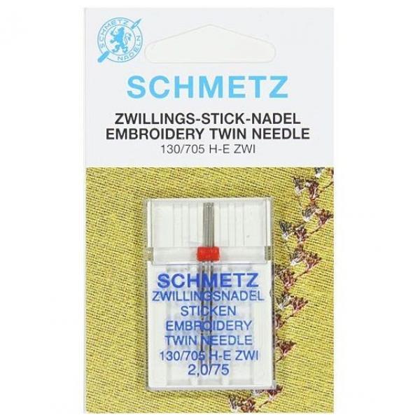 Двойная игла Schmetz Twin Stretch №80/2,5 фото