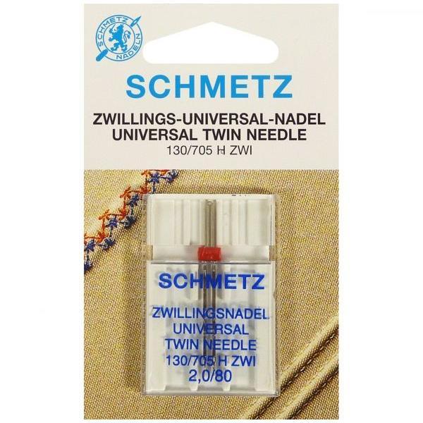 Двойная игла Schmetz Twin Universal №80/2 фото