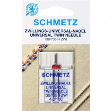 Подвійна голка Schmetz Twin Universal №100/4.0 фото
