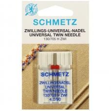 Подвійна голка Schmetz Twin Universal №90/4.0 фото