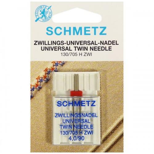 Двойная игла Schmetz Twin Universal №90/4 фото