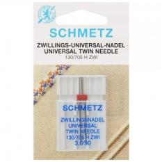 Подвійна голка Schmetz Twin Universal №90/3 фото