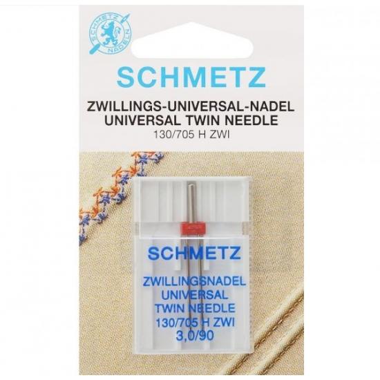 Двойная игла Schmetz Twin Universal №90/3