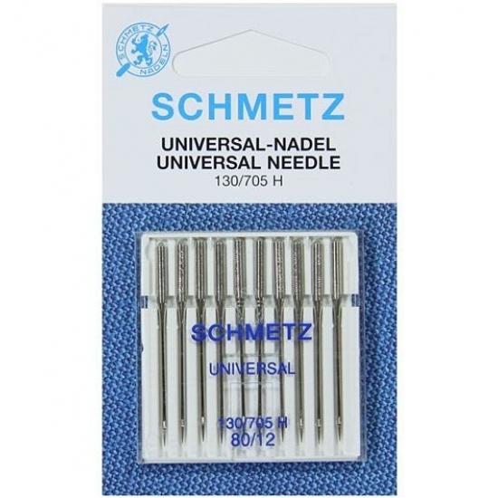 Иглы Schmetz универсальные №80, 10 штук