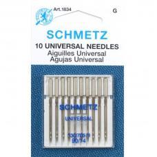 Иглы Schmetz универсальные №90, 10 штук фото