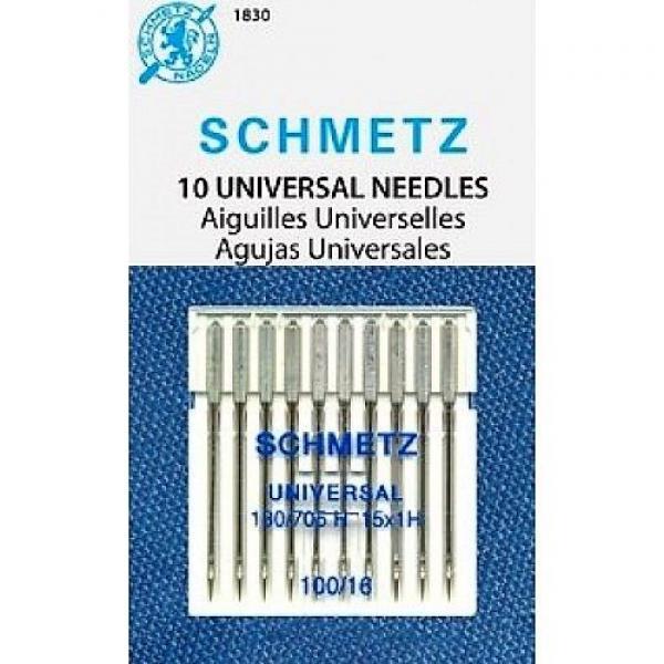 Иглы Schmetz универсальные №100, 10 штук фото