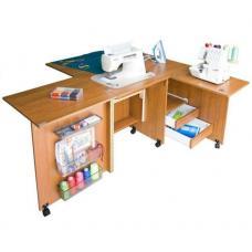 Стол для швейной машины и оверлока Комфорт-4 фото