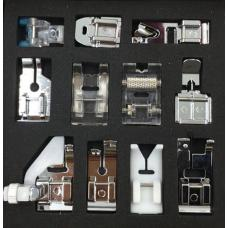 Набор швейных лапок MegaSew Optimal 11 фото