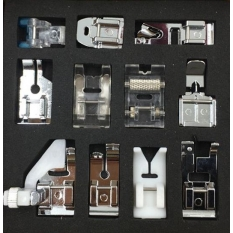 Набор швейных лапок MegaSew Optimal 11 шт. фото