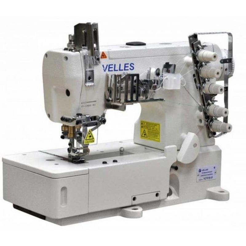 Плоскошовная швейная машина Velles VC 7016-01