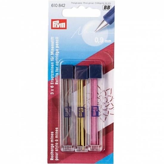 Грифели для механического карандаша Prym 610842