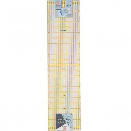 Лінійка для печворку 15х3 см Prym 611317