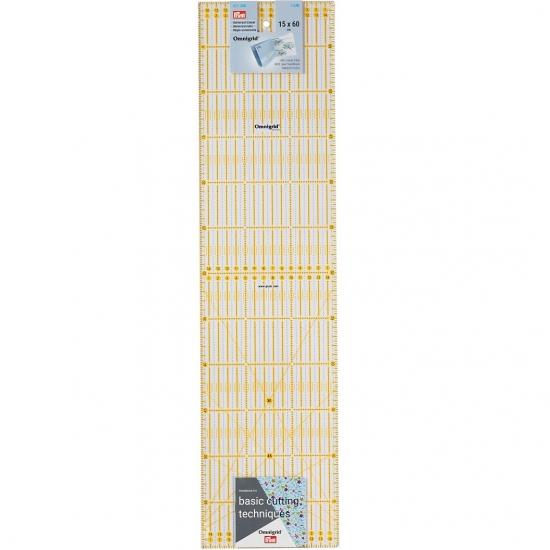 Линейка для пэчворка 15х3 см Prym 611317