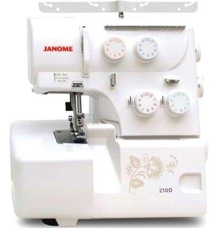 Janome 210d - Интернет магазин «Шпулька»