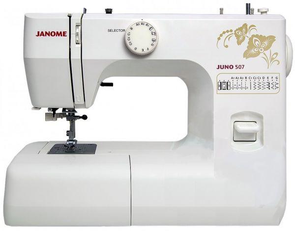 Janome Juno 507 - Интернет магазин «Шпулька»