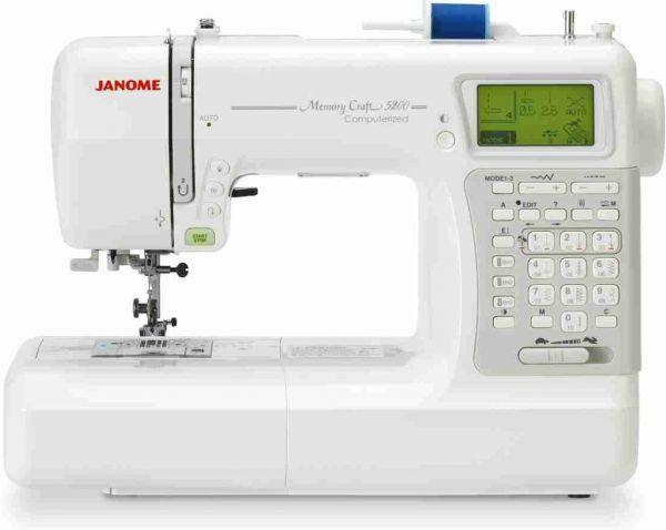 Janome Memory Craft 5200 - Интернет магазин «Шпулька»